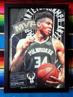✺Framed✺ GIANNIS ANTETOKOUNMPO Milwaukee Bucks NBA Poster - 62cm x 44.5cm x 3cm