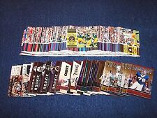 2011 PLAYOFF CONTENDERS FOOTBALL LOT OF 172 CARDS WITH 33 INSERTS (M317-4)