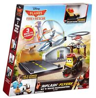 Disney Planes Fire and Rescue Ages 4+ Mattel Car Race Track Fly Plane Gift Dusty