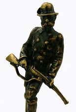 Künstler Bronze Figur Franz Joseph I. Büste Jäger Österreich Kaiserreich sca F11