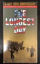The Longest Day - D-Day 50th Anniverary - Color Version  (VHS) Brand New Sealed