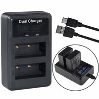 NP-W126 battery charger for Fujifilm HS33EXR X-Pro1 X-E1 X-E2 X-M1 X-A1 X-T10