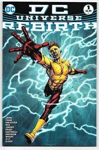 DC Comics Universe Rebirth #1 (07/2016) 4th Print Gary Frank Cover Key Issue