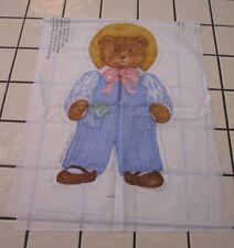 "Victoria Story Book Bear THEODORE Cloth Panel By VIP Cranston Cotton 44"" X 18"""