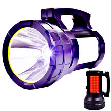 Super Bright Searchlight Handheld Portable Spotlight Rechargeable led flashlight