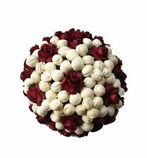 Bun Juda Maker Flower Gajra Hair Accessories For Women and Girls Multicolored