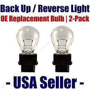 Reverse/Back Up Light Bulb 2pk - Fits Listed Saturn Vehicles - 3156