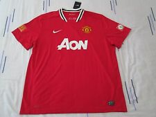 Manchester United football shirt size XXXL red colour Aon Nike BNWT