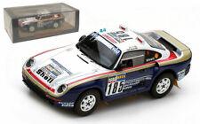 Spark S7814 Porsche 959 #185 2nd Paris-Dakar Rally 1986 - Jacky Ickx 1/43 Scale