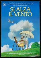 Manifesto Si Alza El Viento Hayao Miyazaki Animación Studio Ghibli Toei P07