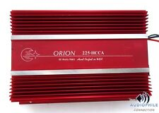 ORION 225HCCA 2 CHANNEL SQ AMPLIFIER ~ HIGH CURRENT OLD SCHOOL LEGEND!