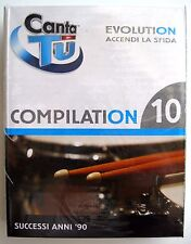 Cartuccia CANTATU' EVOLUTION Compilation 10 - Nuovo! - Idea regalo!