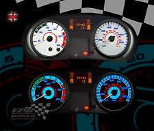 Vauxhall Vivaro van 06-10 speedo dash + Heater lighting bulb upgrade dial kit