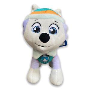 "Paw Patrol, 8"" Everest Dog Standing Plush Stuffed Toy Spin Master New Plushie"