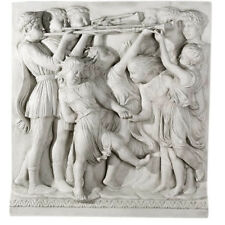 "Cantoria Blast of Horns Frieze Relief 41"" Museum Sculpture Replica Reproduction"
