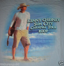 KENNY CHESNEY 2009 SUN CITY CARNIVAL TOUR T SHIRT  SZ M GUC
