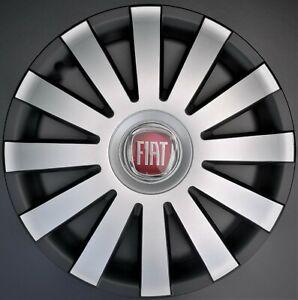 "Set of 4x14"" Wheel Trims for Fiat 500,Punto,Panda"