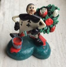 Rare Disney Vintage Tiny Kingdom Card Alice In Wonderland Figure Figurine