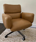 Knoll Original Lounge Chair by Otto Zapf 1970s Brown Leather