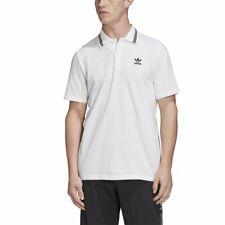 Polo Pique Trefoil Essentials adidas Blanco Hombre
