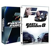 FAST AND FURIOUS Collezione Completa 01 - 08 (8 Dvd) Vin Diesel, Charlize theron