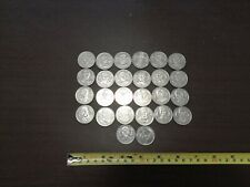 Collection of 26 Lithuania Lietuva IKI Basketball Medals Tokens Medaliai Nr. 713