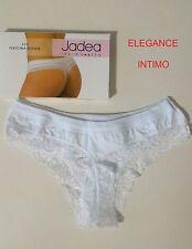 Jadea Perizoma 519 Donna Vita bassa cotone Modal e Pizzo Taglie Assortito 2° - S Nero