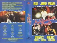 AUSTRALIAN MADE LIVE IN CONCERT VHS PAL  VIDEO A RARE FIND