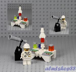 LEGO - Rocket Scientist Minifigure Science Lab w/ Flask Research 21110