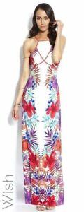 WISH Hibiscus Maxi Tropicana Dress Sz 10 rrp $189.95 BNWT