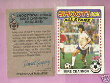 MIKE CHANNON  ENGLAND    SHOOT GOAL ALL STARS   1974