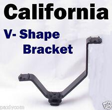 """1/4"""" V Shape 3 Triple Cold Shoe Bracket Mount Stand Holder LED Video Pentax Hot"""