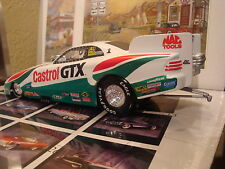 JOHN FORCE CASTROL GTX OIL 1997 FORD MUSTANG FUNNY CAR NHRA DRAG RACING 1:24 LTD