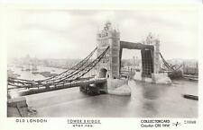 London Postcard - Old London - Tower Bridge  When New   2419