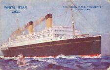 White Star Line Twin Screw R.M.S. Homeric Ship 03.57