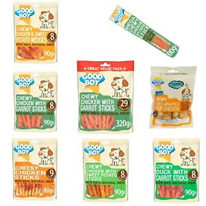 Pawsley ZERO RAWHIDE Range Cheese Chicken Sweet Potato Carrot Dog Chews Treats