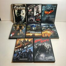 Lot of 8 Action Comic Hero Movies Transformers Spawn Batm 00006000 an iron Man Sin City