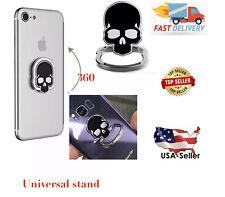 Universal 360 Skull Rotating Finger Ring Stand Holder Plate Cell Mobile phone