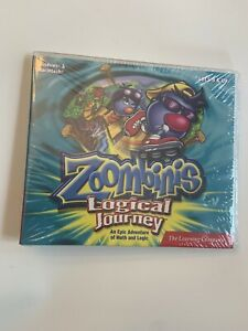 The Learning Company Zoombinis Logical Journey Pc Mac FACTORY SEALED BRAND NEW