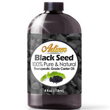 Premium Black Cumin Seed Oil Nigella Sativa (100% PURE & COLD PRESSED) - 4oz