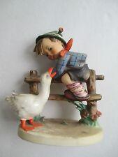 Vintage Hummel Barnyard Hero 1948 195 /4  78 Boy On Fence w Duck ORIGINAL price