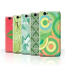 STUFF4 Back Case/Cover/Skin for Huawei Nova/Green Fashion