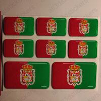 Pegatinas Granada España Pegatina Bandera Adhesivo Ciudad 3D Relieve Resina