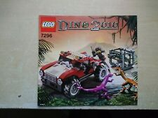 LEGO 7296 DINO 4x4 Trapper Libretto Manuale Di Istruzioni Solo
