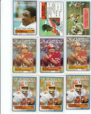 Complete Your 1983 Topps Football Set - Pick 25 Cards