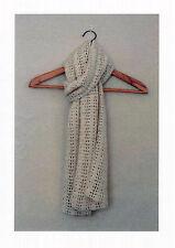 Crochet Scarf Pattern (NOT FINISHED ITEM)
