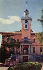 TUOLUMNE COUNTY COURT HOUSE Sonora, CA c1950s Vintage Postcard
