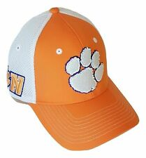 size 40 b798e 4d702 Zephyr Clemson Tigers Hat Mesh Back Stretch Fitted Cap XL Size 7-1 2
