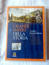 GRANDI IMPERI DELLA STORIA N°6 I Maya Gli Atzechi History Film DVD