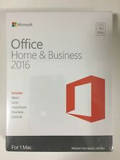 office Home & Business 2016 for MAC English Eurozone Medialess Retail W6F-00550